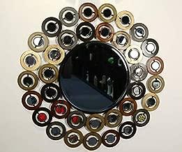 Moksha Decor Iron Circle Mirror