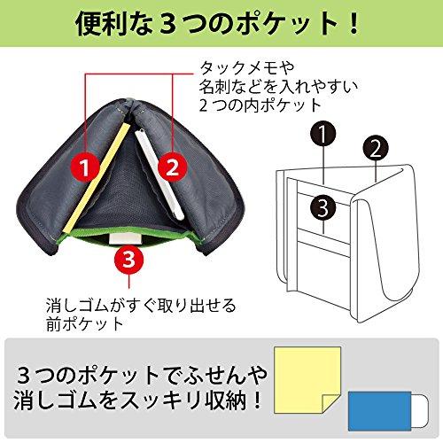 コクヨペンケース筆箱ペン立てネオクリッツフラットピンクF-VBF160-2
