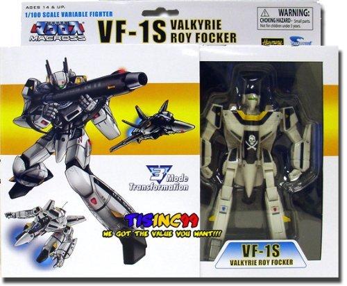 Macross Series 1 VF-1S Valkyrie Roy Focker 1/100 Scale