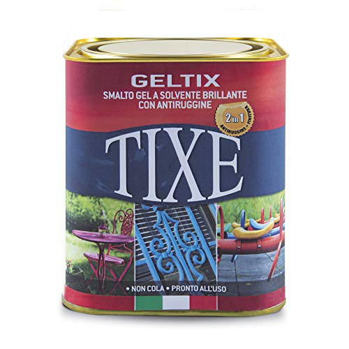 TIXE 105.621 Smalto Gel Antiruggine, Ghisa, 750 ml
