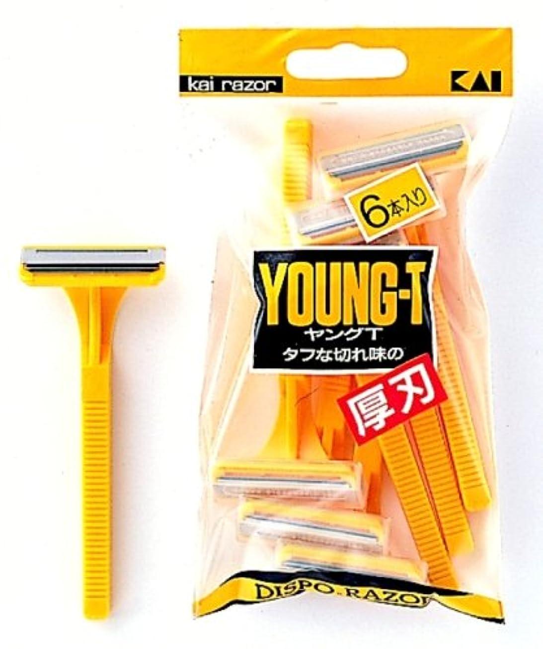 ぬるい強化石鹸ヤングT-6本入