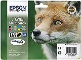4 x Epson Patronen für Epson Stylus S 22, Multipack (1xBk, je 1x C, M, Y) Druckerpatronen für S22, 16, 4ml