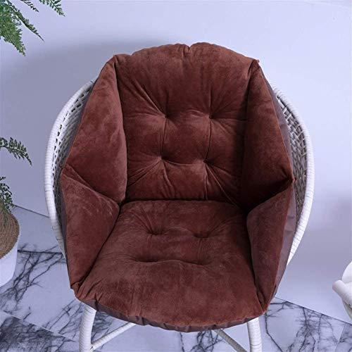 Garden Chair Cushion Base,Seatpad Backrest Sun Lounger Cushion Pads Rocking Chair Cushions,Soft Rocking Chair Cushion Outdoor Patio Chaise Lounge Cushion 40x48cm