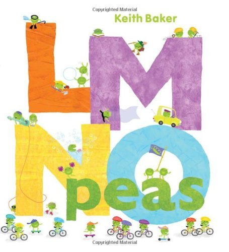LMNO Peas by Baker, Keith [Beach Lane Books,2010] (Hardcover)