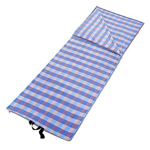 SSDAOO sobre Polar Fleece Bolsa De Dormir Viajes Al Aire Libre Bolsa De Dormir Hotel Anti-Sucio Bolsa De Dormir Liner,Azul