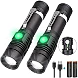 Rechargeable Flashlight (Battery Included), 1200 Lumen Super Bright LED Flashlight, Cree LED, Water-Resistant, Zoomable, 4 Mode Tactical Flashlight - Best Camping,Hiking, Emergency Flashlight