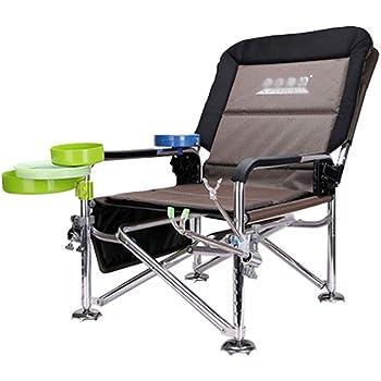 Sedia regista imbottita da campeggio pieghevole con borsa termica sedia da pesca