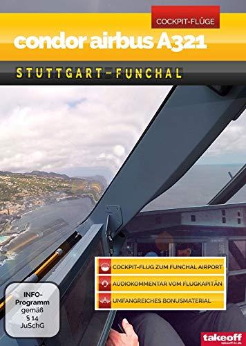 Condor Airbus A321 Stuttgart-Funchal - Cockpit-Flug
