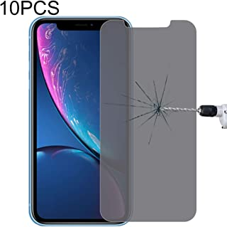 10PCS 9H Surface Hardness 180 Degree Privacy Anti Glare Screen Protector for iPhone XR New Hengk