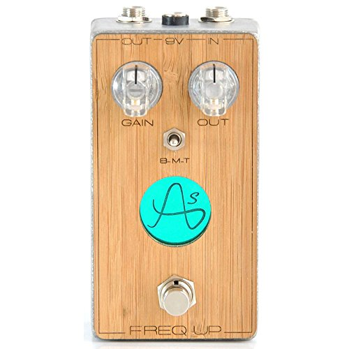 Anasounds FREQ UP Tube Screamer Style Overdrive Pedal for Guitar