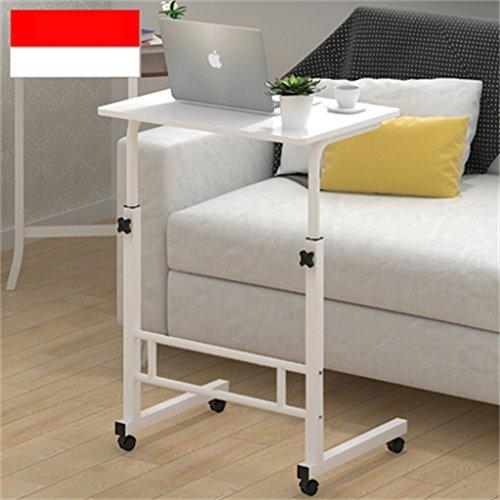 Computertisch, Esstisch zu Hause, Roller, Desktop einstellbar - Klapptisch (Farbe : C)