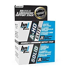 NATURAL TEST LEVELS: The unique ingredient profile of A-HD Elite/Solid is backed by research and designed to promote healthy, natural testosterone levels.* IMPROVED PHYSIQUE: A-HD Elite/Solid provides anabolic and androgenic support, which may contri...