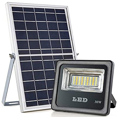 Solar Flood Lights Outdoor, Awanber IP66 Auto On/Off Dusk to Dawn