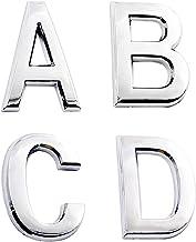 ZHHOOHAG Huisborden 3D A tot Z Alfabet Letter Sticker Zelfklevende Huisnummer Voor Thuis Appartement Hotel Adres Postbus D...
