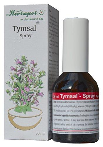 Thymian und Salbei Tinktur in Spray - effektives Mittel bei Halsschmerzen, Halsentzündung, Zahnfleischentzündung, für frischen Atem, antibakteriell, schleimlösend, 30ml, gurgeln, gurgellösung