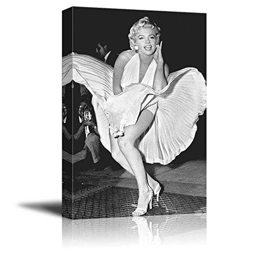 wall26 - Portrait of Marilyn Monroe - Canvas Art Wall Art - 12