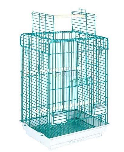 Suinga PAJARERA Jaula EXPOSICIÓN Loros y Otras Aves. Medidas 50x39x78 cm