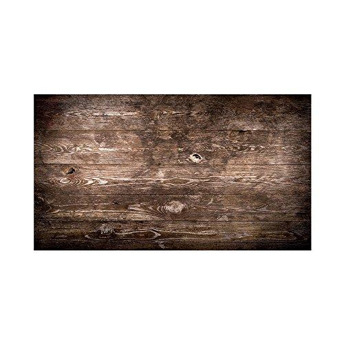 Viscom® Memoboard Glas - Design Glasboard, Magnetwand Design, Magnetisch, Weitere Farben + Größen, 120 x 60 cm Dark Wood