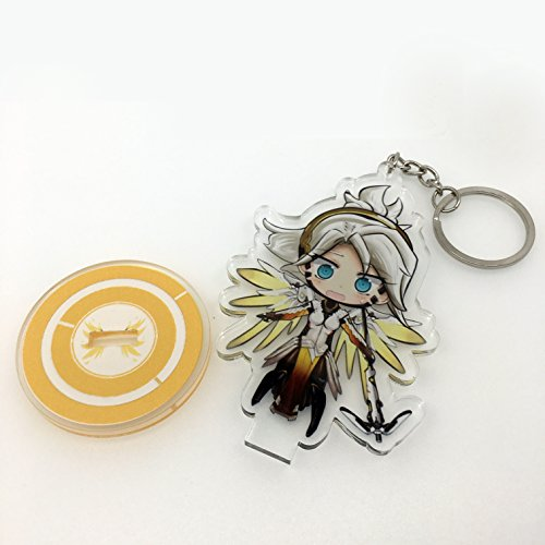 GALIGEIGEI Overwatch Acrylic desk decoration, Figure (Keychain) Photo #5