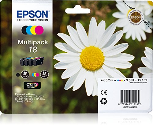 Epson Multipack T18, Multicolore
