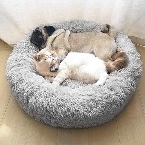 Premium Ultra Weicher Plüsch Donut Hundekissen für große und extra große Hunde Katzen,Kuschel-Nest, Hundesofa,wasserdicht waschbar strapazierfähig Schlafplatz Hundekorb