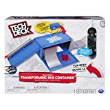 Tech Deck - Transforming SK8 Container - Ramp Set and Signature Pro Finger