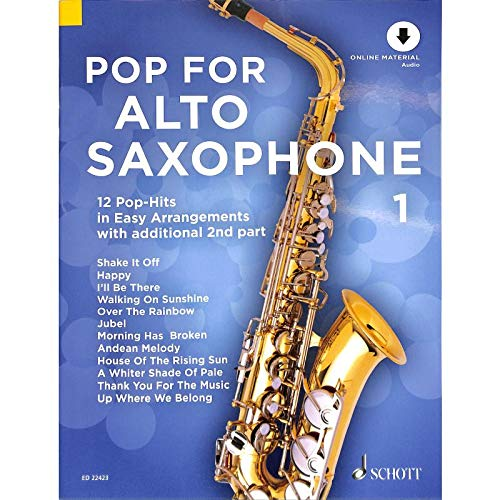 Pop for Alto Saxophone 1 - arrangiert für Altsaxophon - (für ein bis zwei Instrumente) - mit Online Audio [Noten/Sheetmusic]