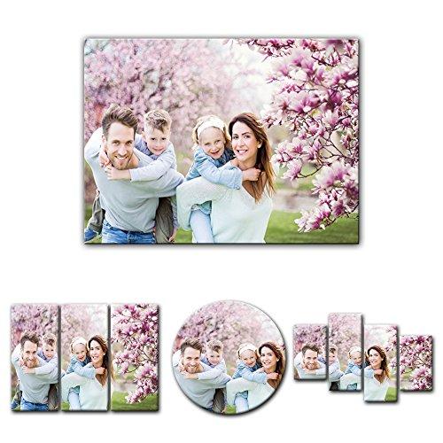 Mein Foto auf Leinwand - Wunschmotiv - Digital-Format - 50x40 cm / 40x50 cm - Deine eigene individuelle Foto-Leinwand - SOFORT VORSCHAU - Eigenes Bild - Dein Wunschmotiv aufgespannt auf Bilderrahmen