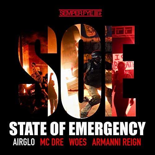 Airglo feat. MC Woes, Mc Dre, Armanni Reign & Semper Fye