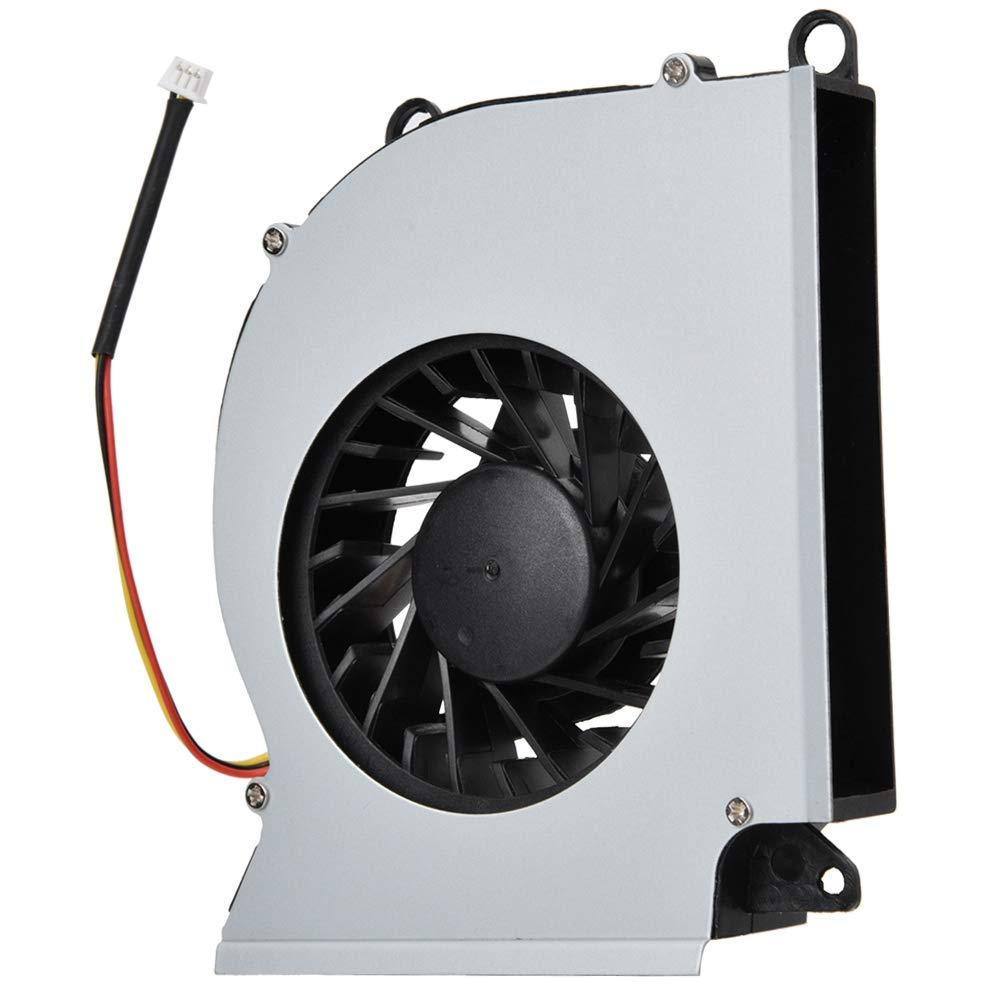 Ventilador de enfriamiento para computadora, Mini ventilador portátil para computadora portátil, Ventilador de soplado silencioso de enfriamiento interno de CUP, para MSI GT60 GT70