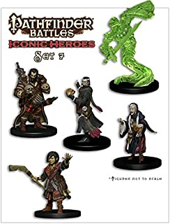 Wizkids CMG Pathfinder Battles Iconic Heroes Box Set 7