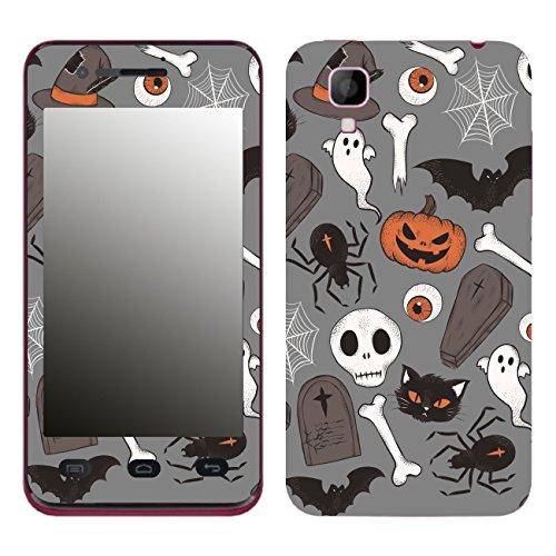 Disagu SF-106204_1213 Design Folie für Wiko Sunset - Motiv Halloweenmuster 05