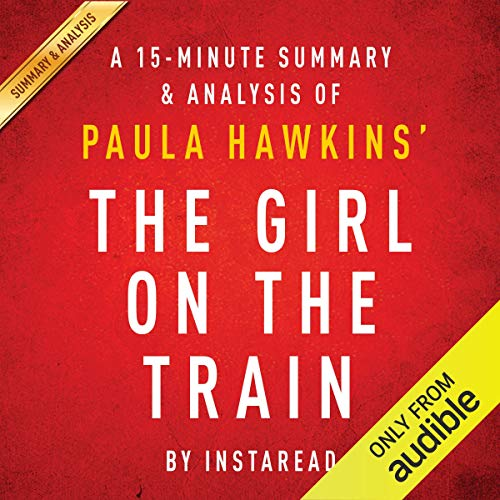 The Girl on the Train: A Novel by Paula Hawkins audiobook cover art