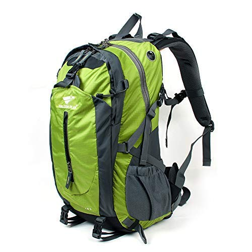 40L Outer Frame Hiking Backpack with Rain Cover,Outdoor Sport Travel Daypack for Climbing Camping Touring,High-Performance