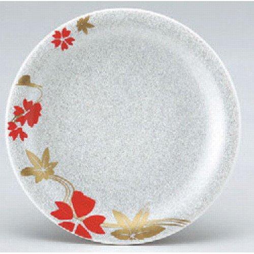 回転ずし 寿司皿シルバー花流水 洗浄機可 [15φ x 2.1cm] 耐熱ABS樹脂 食洗機可 (7-481-6) 料亭 旅館 和食器 飲食店 業務用