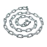 Extreme Max 3006.6569 BoatTector Anchor Chain - 1/4' x 4' Galvanized Steel with 5/16' Shackles