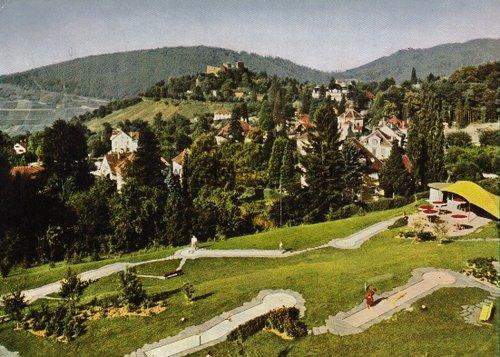 Thermalkurort Badenweiler / südl. Schwarzwald. Mini-Golfplatz