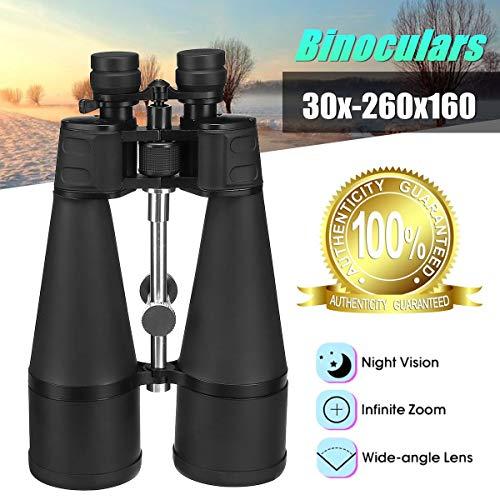 ET Clearlove Binoculares 30-260X160 Zoom Potente Telescopio