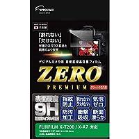 エツミ 液晶保護フィルム ガラス硬度の割れないシートZERO PREMIUM FUJIFILM X-T200/X-A7対応 VE-7573