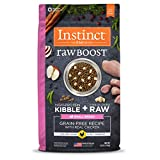 Instinct Raw Boost Small Breed Grain Free Recipe with Real Chicken Natural Dry Dog Food by Nature's Variety, 4 lb. Bag