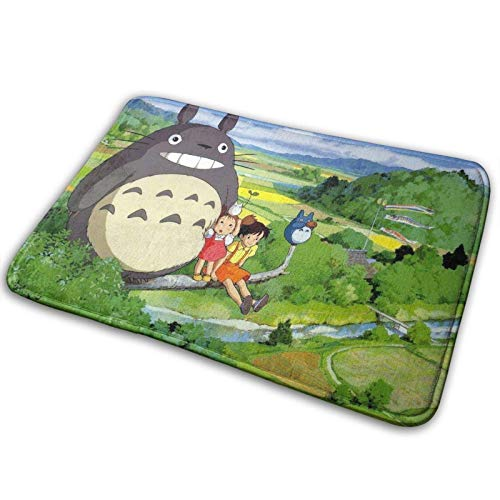 LemonSisterShop Cartoon Carpet Area Bedroom Camping Soft Mat Blankets Home Room Comfortable and Durable Decor Rug Polyester 15.7 X 23.5 Inch