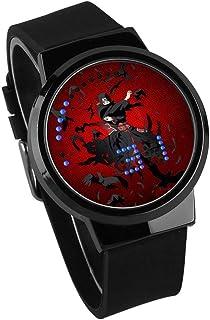 Montres Hommes Mode Écran Tactile LED Créatif Naruto Anime Entourant Montre Électronique Lumineuse Étanche