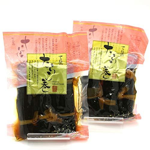 昆布巻き タラコ 昆布巻 たらこ 函館 タラコの昆布巻き 3本入り×2袋 セット (220g前後×2) おせち料理の一品 佃煮昆布 コンブ巻 北海道 こんぶ巻