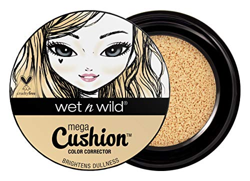 Wet n Wild MegaCushion™ Color Corrector – Formato Cushion –  Amarillo - 1 unidad