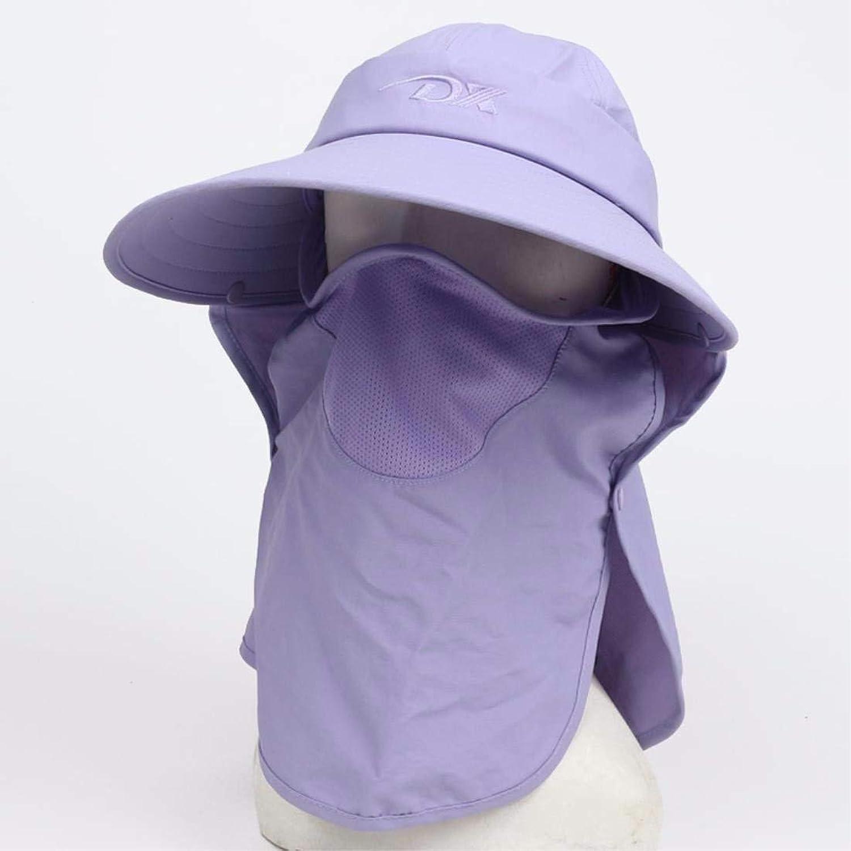 Beach Hat Women's Hats Summer Outing Sunscreen Caps Face Caps Beach Caps Cycling Caps Purple A A Summer Sun Hat