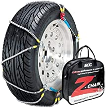 Security Chain Company Z-575 Z-Chain Extreme Performance Cable Tire Traction Chain - Set of 2,Silver