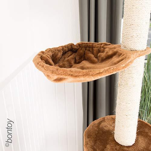 Bontoy Kratzbaum mit drei Ebenen deckenhoch 240 – 260 cm - 8