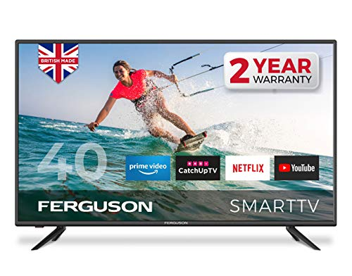 Ferguson F4020RTS 40 inch Smart Full HD LED TV with streaming apps and catch up TV built-in | Made...