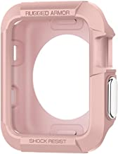 Spigen Rugged Armor Designed for Apple Watch Case for 42mm Series 3/Series 2/1/Original (2015) - Rose Gold