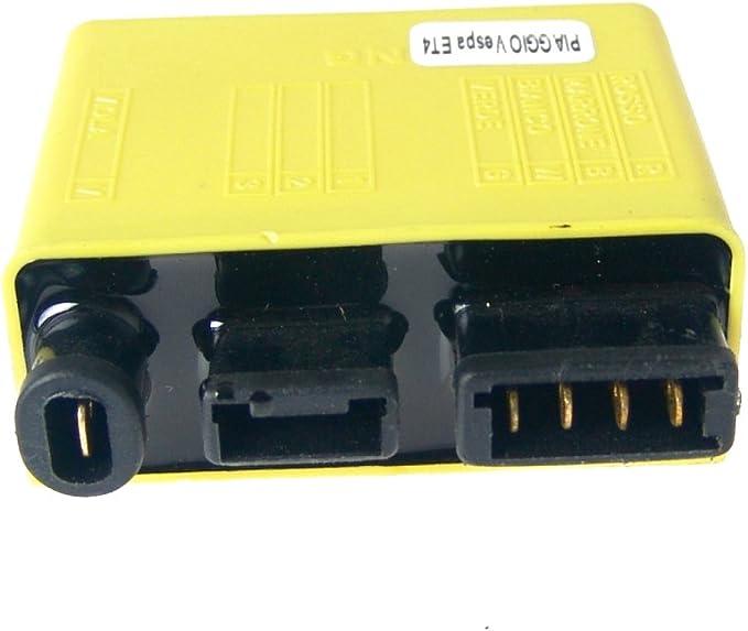 2extreme Cdi Zündeinheit Offen Kompatibel Für Vespa Et4 125 Zapm04 Auto